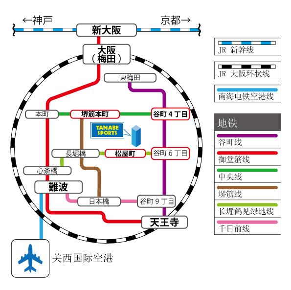 路線図(中国)