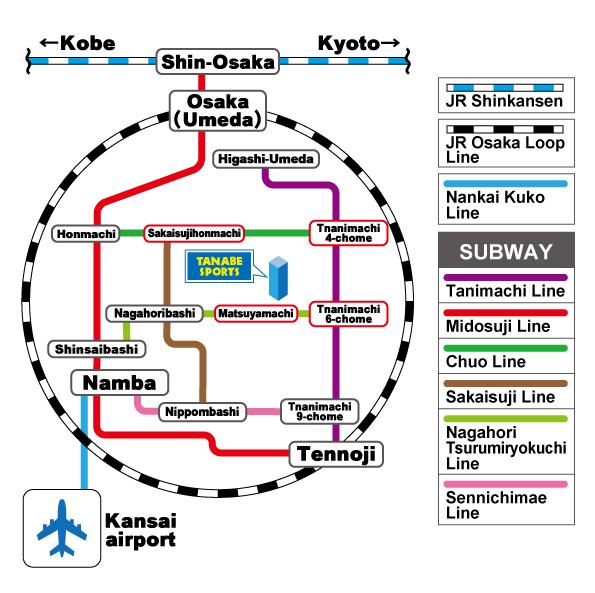 路線図(英語)