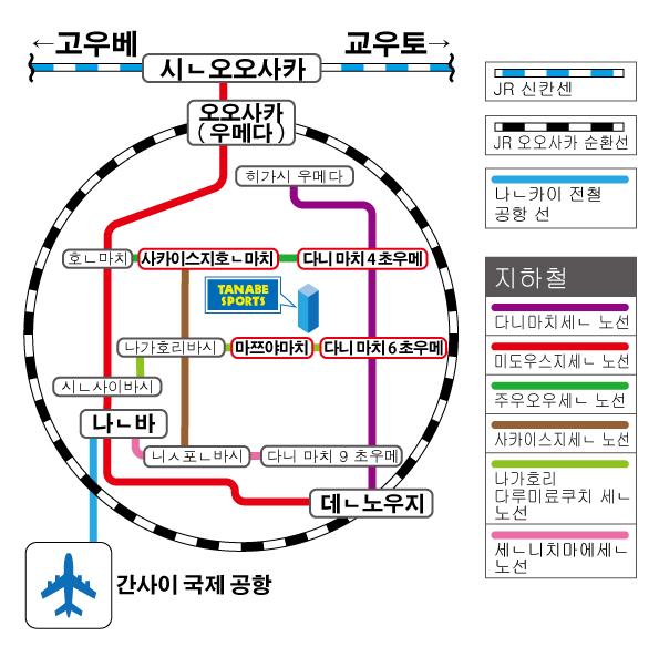 路線図(韓国語)
