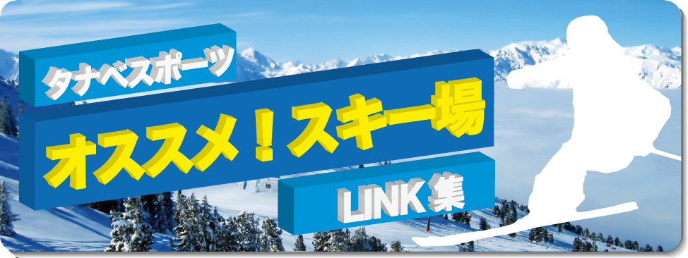 おすすめ!スキー場