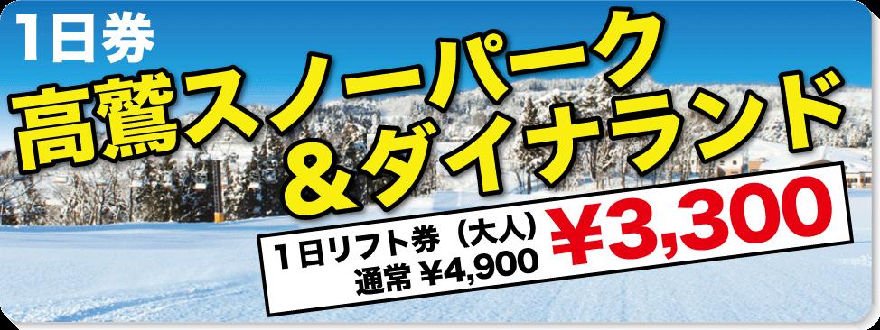 高鷲スノーパーク&ダイナランド(福井県)